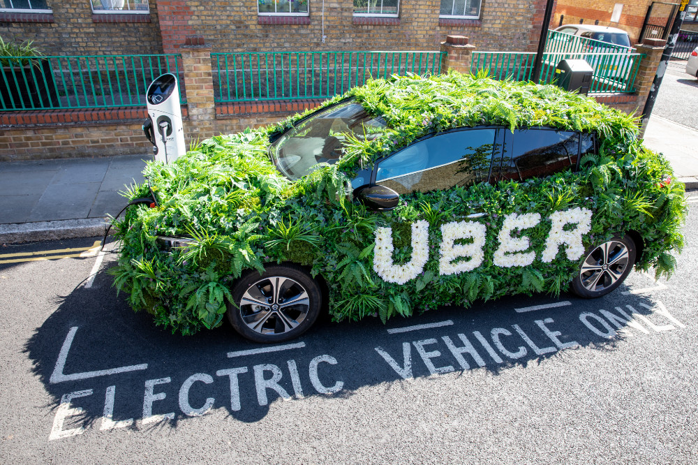 Uber Electric Vehicle Charging