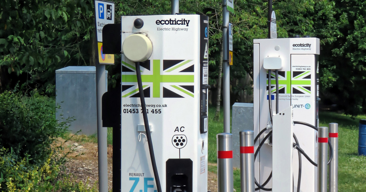 Motorway EV charging stations
