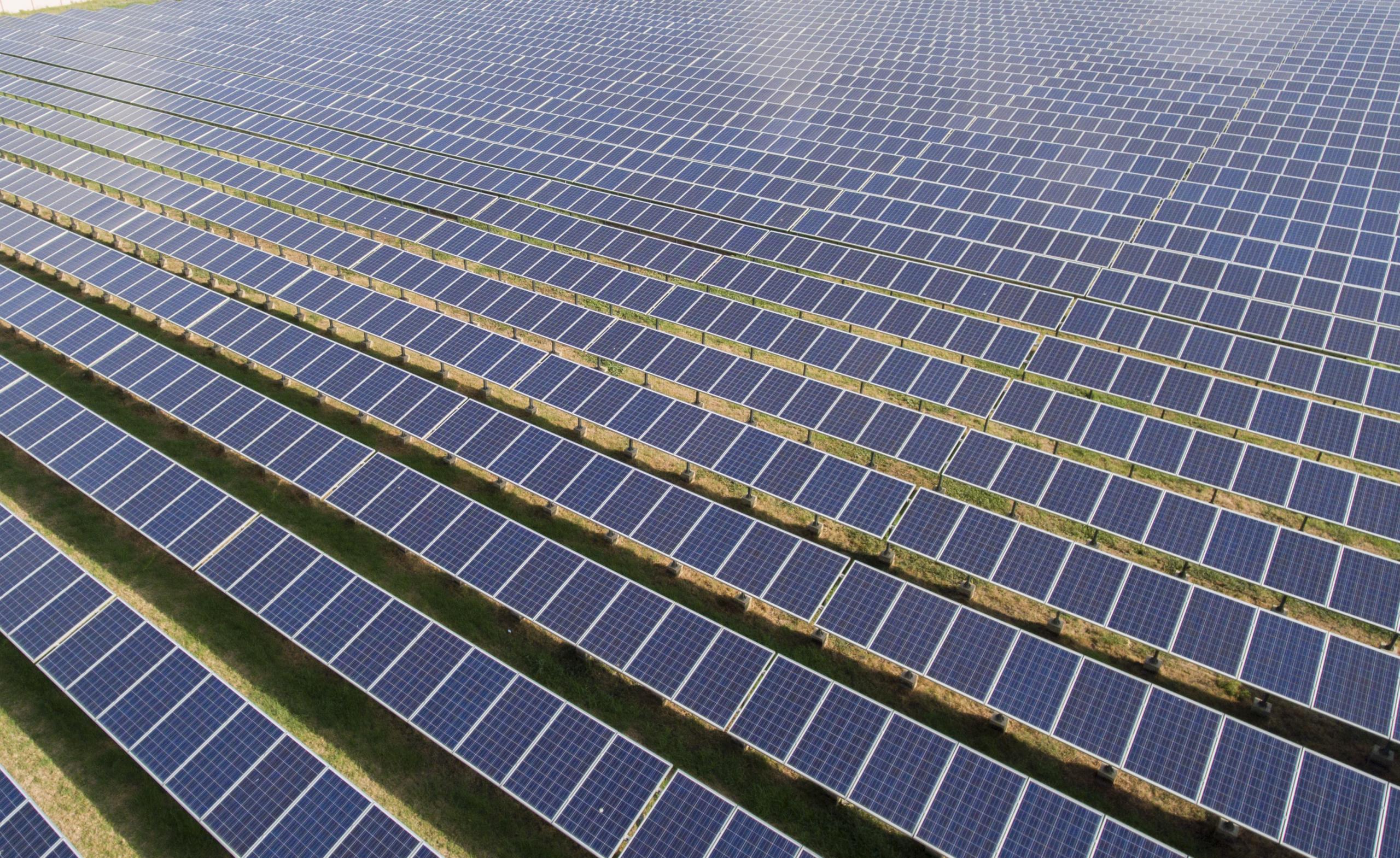 Solar Farms required for net zero