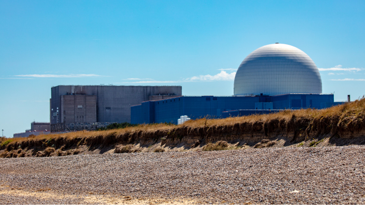 Sizewell's existing nuclear power station