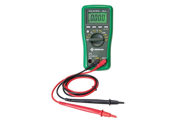 Greenlee 600V Auto-Ranging Digital Multimeter Review