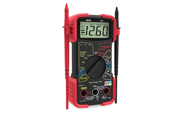 NNOVA 3320 Auto-Ranging Digital Multimeter Review