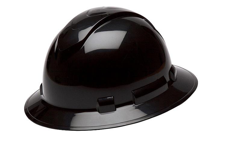 Pyramex Ridgeline Full Brim Hard Hat Black Review