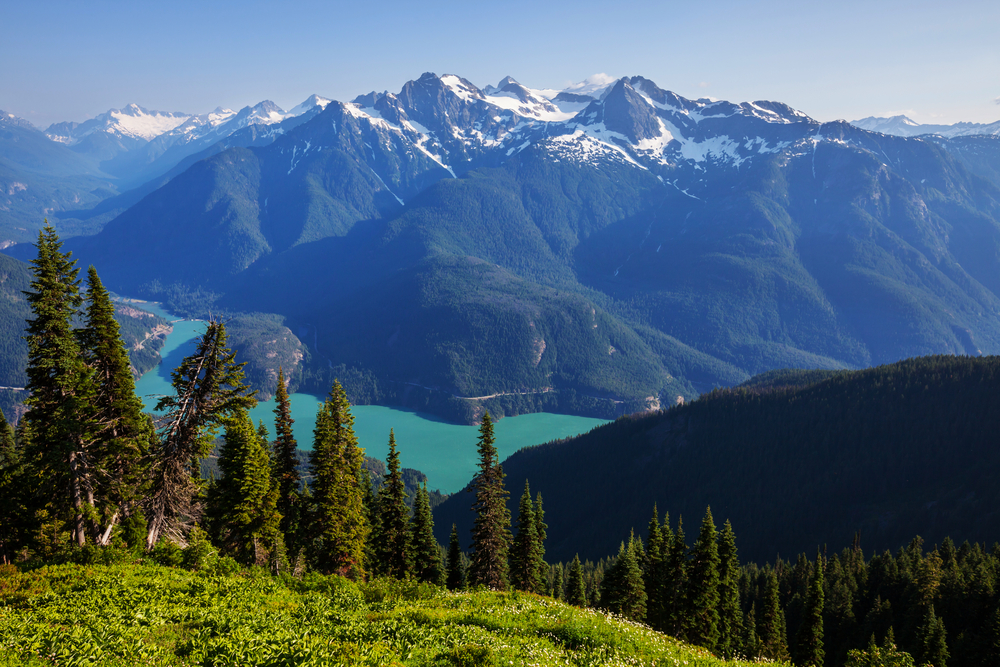 Diablo Lake, Washington State