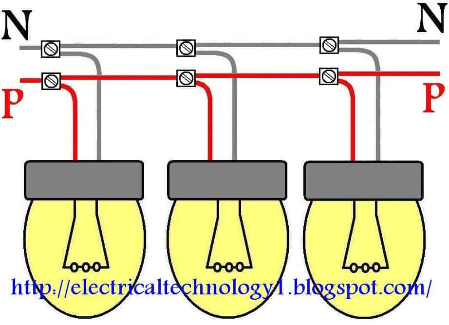How To Wire Lights In Parallel? Electrical Technology