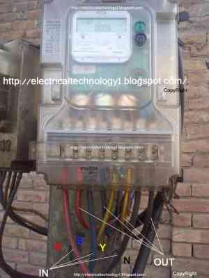 How To Wire 3Phase kWh Meter? | Electrical Technology