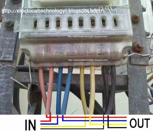small resolution of  httpelectricaltechnology1 blogspot com 3 phase meter conection how to wire 3 phase kwh meter
