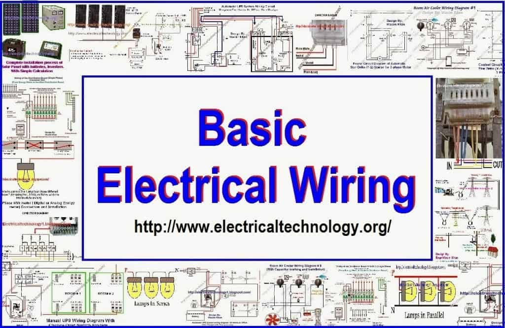 Single Phase & Three Phase Wiring Diagrams