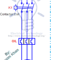 Kwh Meter Wiring Diagram 2000 Ford Focus Ignition On / Off Three-phase Motor Connection Power & Control