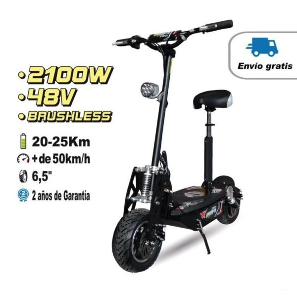 Scooter patinete eléctrico 2100W