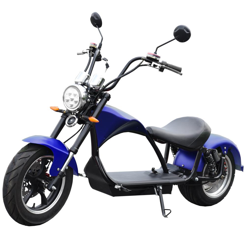 E-Chopper Ciclomotor eléctrico matriculable
