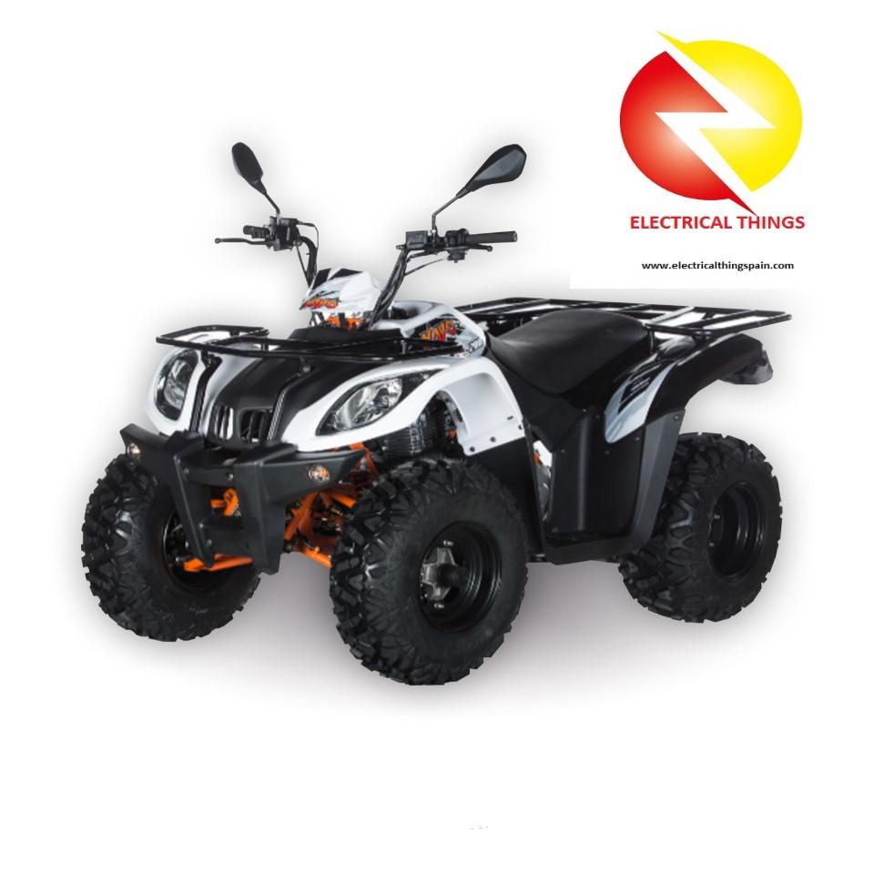 Quad Matriculable ATV 200 T3B