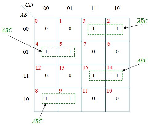 Ab C D Circuit Diagram Gray To Binary Code Converter Circuit Truth Table