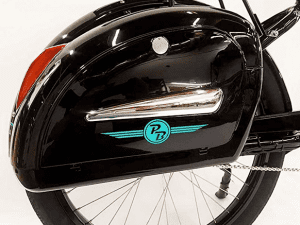 Phantom Santa Fe Classic e-bike hidden motor and battery