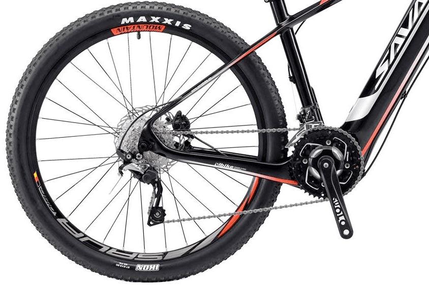 SAVADECK Knight 9.0 Alloy Pedals, Chain Wheel & Freewheel