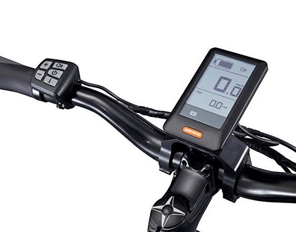 Schwinn Sycamore LCD control system