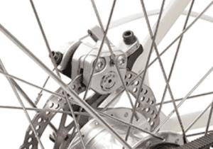 Faraday Cortland hydraulic brakes