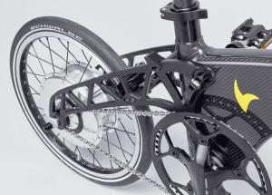 Hummingbird Electric Bike Motor and battery