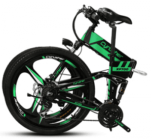cyrusher xf700 Folding e-bike