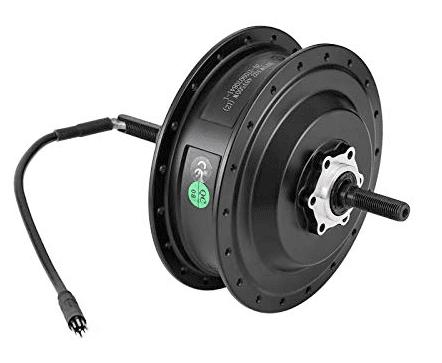 Geared hub motor