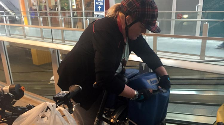 3 ways to Use an Electric Bike to Get Fit. Once we started using electric bikes, we quickly became addicted to their fun and convenience. Maggie and I now do most of our grocery shopping with our electric bikes