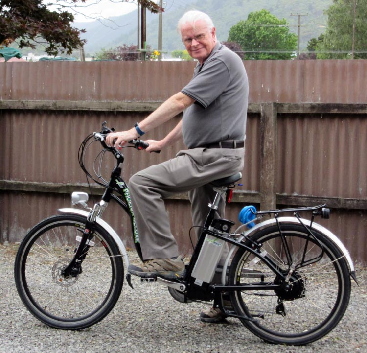 Case Studies: Three Seniors who Regained their Health with E-Bikes. Philip Middlemiss is 72 years old. He is recovering his health by cycling on an electric bike