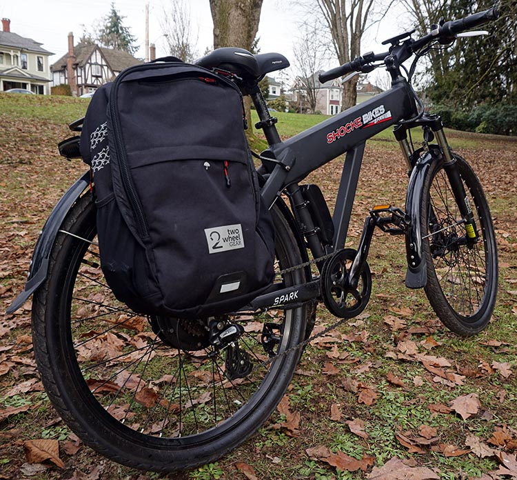 I had a lot of fun with the Spark e-bike in the park! Spark electric bike review