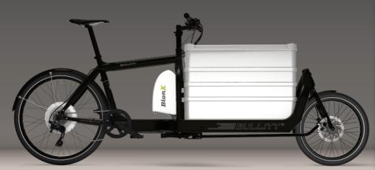 Bullitt electric cargo bike