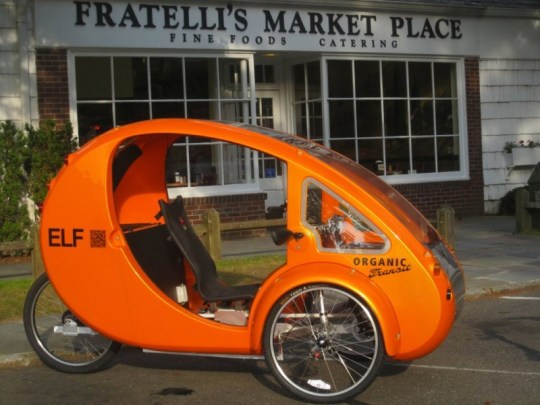 Organic Transit Elf electric cargo trike