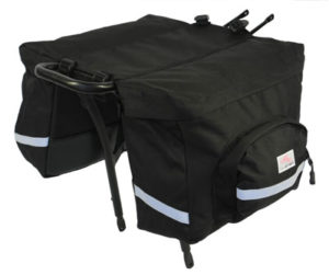 Bike Smart Doublewide bags.