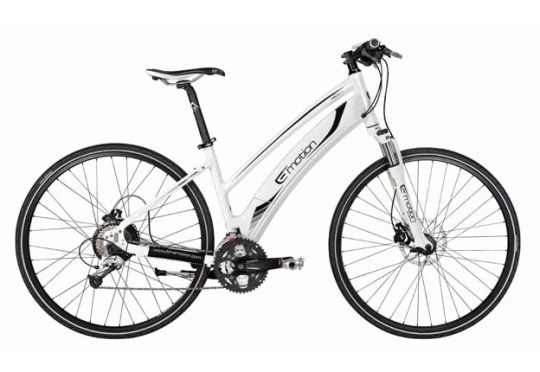 The Easy Motion NEO Jet electric bike that John Moss will use on his 2,500 mile tour.