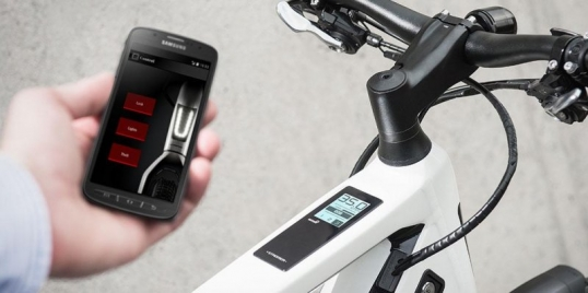 Electric bike smartphone applications