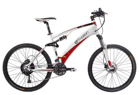 Easy Motion NEO Jumper electric mountain bike.