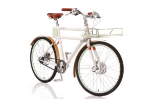 The classically styled Faraday Porteur electric bike.