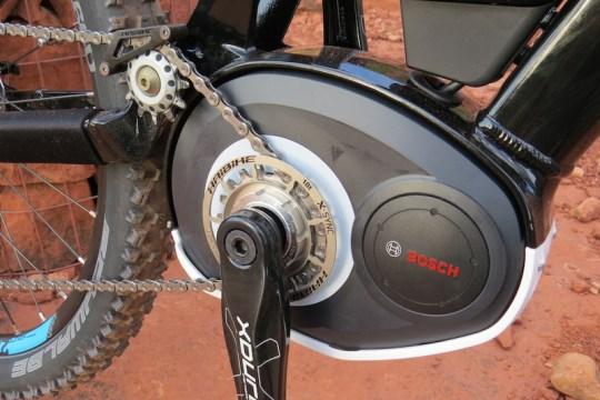Haibike FS RX bosch motor