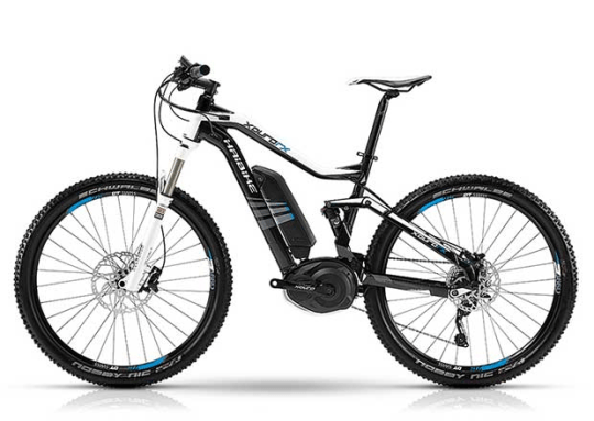 Haibike XDURO FS RX electric mountain bike.