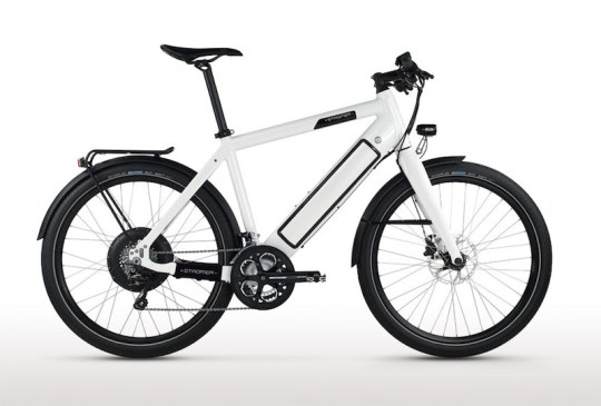 Speed Pedelec: Stromer ST1 Platinum electric bike.