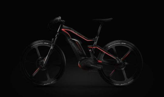 Haibike carbon fiber electric mountain bike