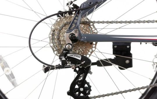 Optibike Pioneer Allroad electric bike derailleur