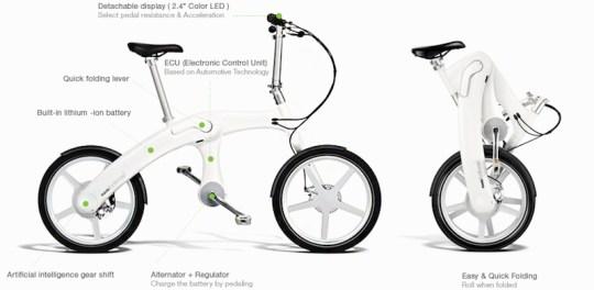 mando footloose folding electric bike
