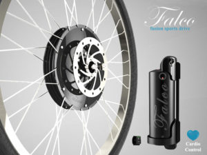 Falco Fusion Wheel Drive System with Cardio Control
