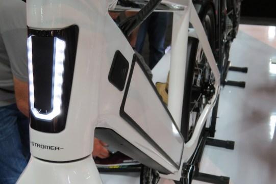 Stromer ST2 electric bike battery door