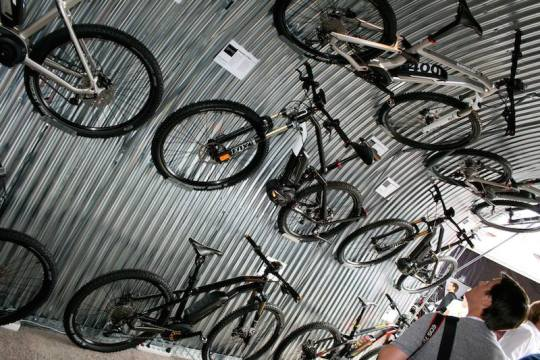 electric mountain bikes eurobike