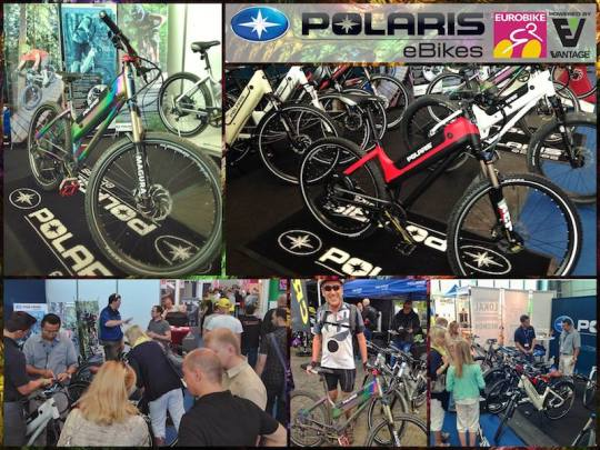 polaris electric bikes at eurobike