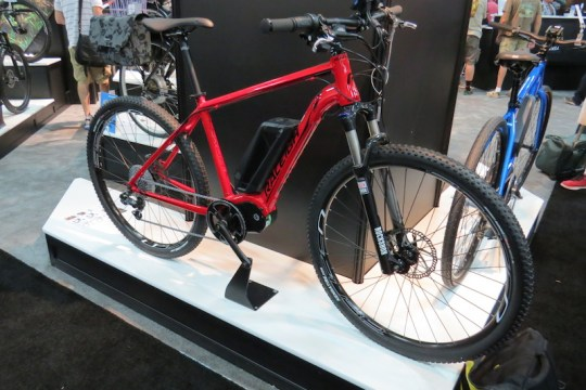raleigh tekoa electric mountain bike