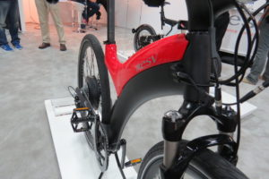 BESV Lion LX1 electric bike frame