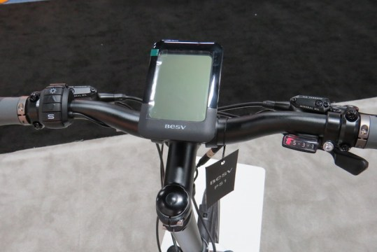 BESV Pather PS1 electric bike display