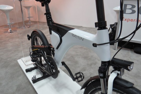 BESV Pather PS1 electric bike frame