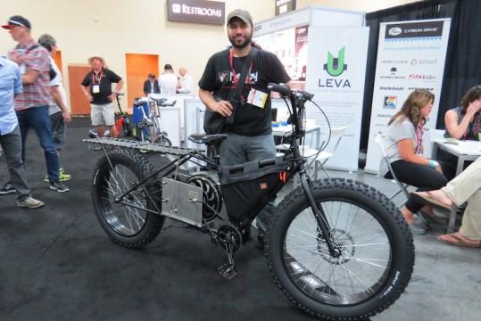 Madboy EV electric cargo fat bike