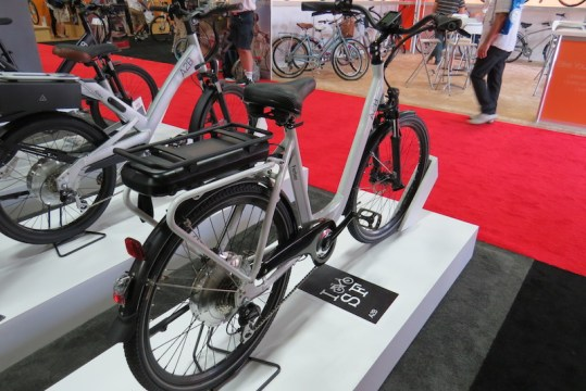 a2b ferber electric bike back